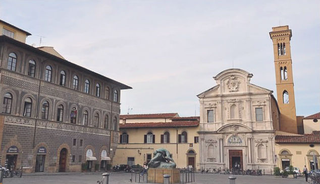 one of the best examples of baroque architecture in florence