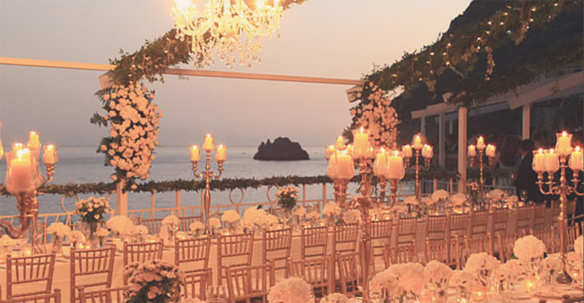 Africana Restaurants In Praiano Wedding Venue By The Sea
