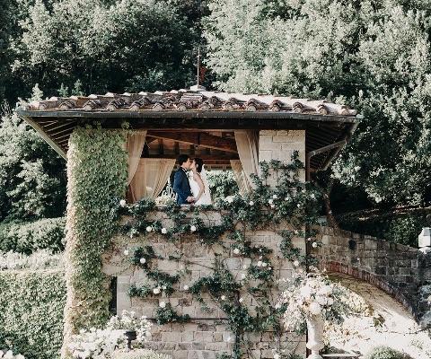 Sun-kissed Wedding in the enchanting villa