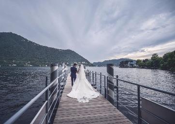 Wedding in Como Lake