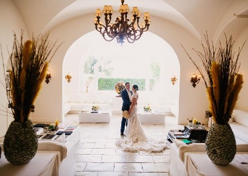 Stylish Wedding venue in Capri