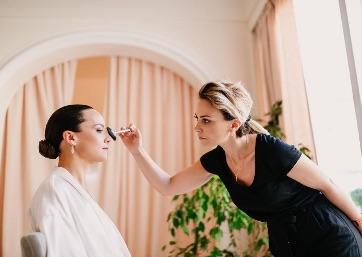 Bridal make up in Capri