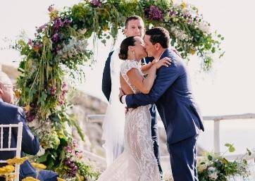Romantic Wedding ceremony in Capri