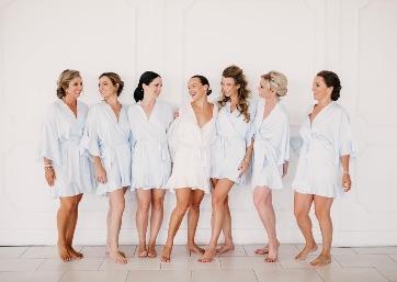 Bridal party pics in Capri