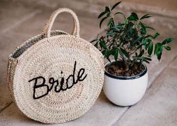 Bridal bag in the Amalfi Coast