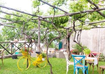 Welcome dinner in a lovely Garden in Ravello