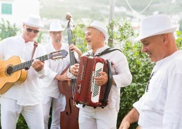 Wedding music in Ravello