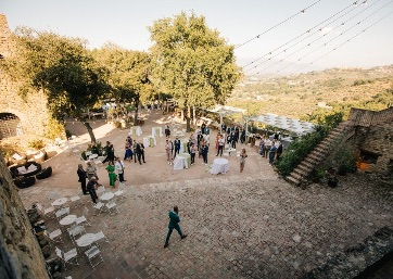 Your Wedding in the amazing castle in Umbria