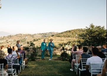 Symbolic ceremony in Umbria