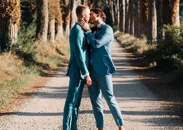 Wedding shooting around the Umbrian countryside