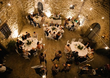 Wedding band in Umbria