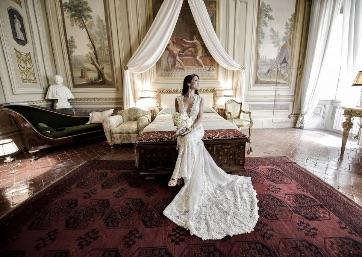 Stunning Bride in Tuscany