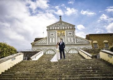 Wedding shooting in Tuscany