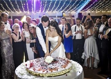 Beautiful Italian Wedding cake in Florence