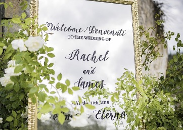 Wedding details in Tuscany