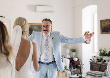 Emotional Wedding moments in Apulia