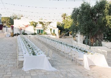 Amazing Wedding imperial tables in Apulia