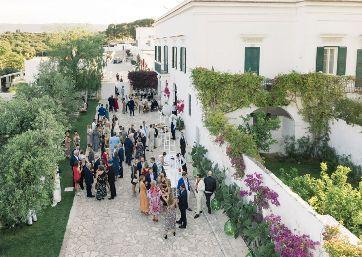 Wedding venue in Apulia