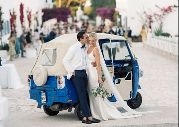 Traditional Wedding transportation in Apulia