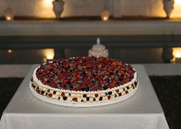 Italian Wedding cake in Apulia