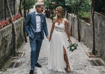 Lovely couple in Ravello