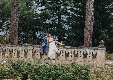 Amazing Wedding pics at the villa in Ravello
