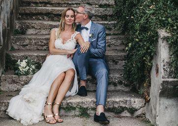 Romantic Wedding moments in Ravello