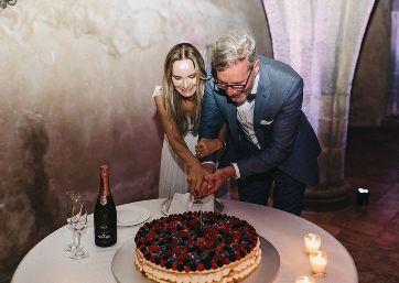 Italian Wedding cake in Ravello