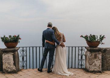 Admiring the amazing Belvedere in Ravello