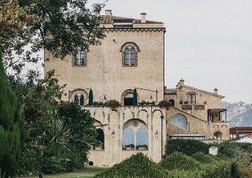 Wedding venue facing the sea in Ravello