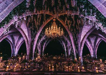 Stunning Wedding reception in Ravello