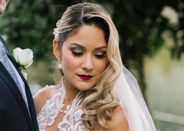 Beautiful Bride in Ravello