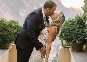 Wedding pics in Amalfi Coast