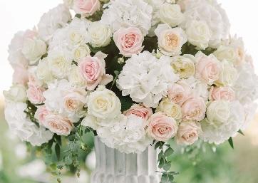 Stunning Wedding floral decor in Ravello