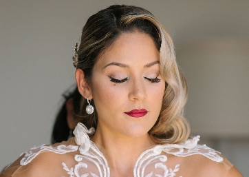 Bridal getting ready in Amalfi Coast