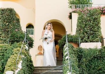 Bridal entrance in Ravello