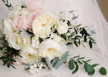 Bridal flowers in Amalfi Coast