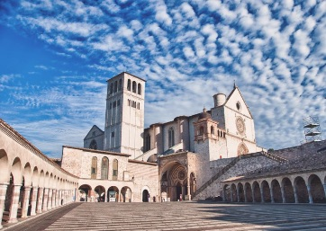 Get Married in Assisi at The Basilica of St. Francis