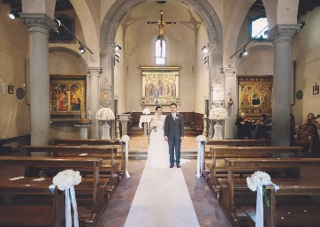 Get Married in Florence at Renaissance Church on the outskirts of Florence