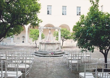 Get Married in Rome at Ancient cloister in the heart of Rome