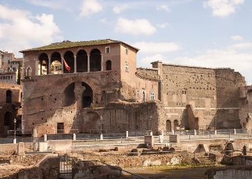 Get Married in Rome at Impressive venue with breathtaking view over the Roman ruins