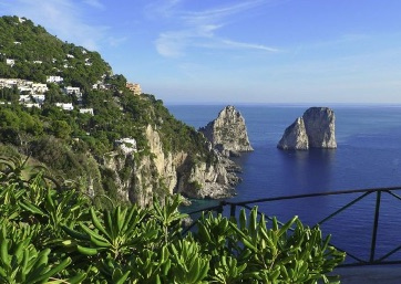 Get Married in Capri at Wonderful Gardens atop a cliff overlooking the sea