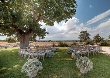 Get Married in Apulia at Boutique Trulli Hamlet in Vineyard