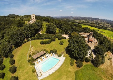 Get Married in Perugia at Luxury Castle set within a superb, private historic estate and nature reserve in Umbria