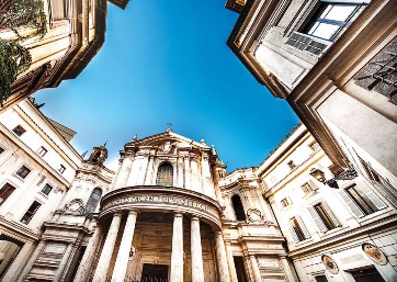 Get Married in Rome at Impressive Church in the historical city centre, home of Raphael's famous Sibyls fresco