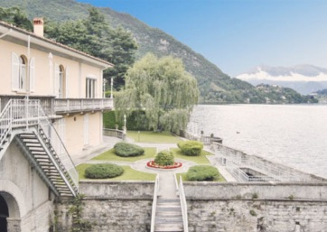 Get Married in Lake Como at Lakeside Villa with beautiful grounds!