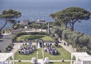 Get Married in Sorrento at Historical Villa On The Sorrentine Coastline