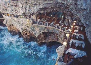 Get Married in Apulia at Incredible Restaurant nestled in Sea Cave