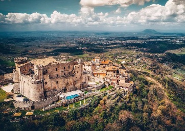 Get Married in Rome at Fairy Tale Castle with accommodation