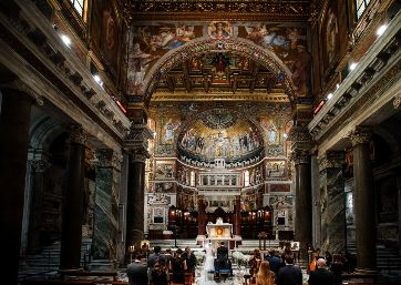 Get Married in Rome at Trastevere Church